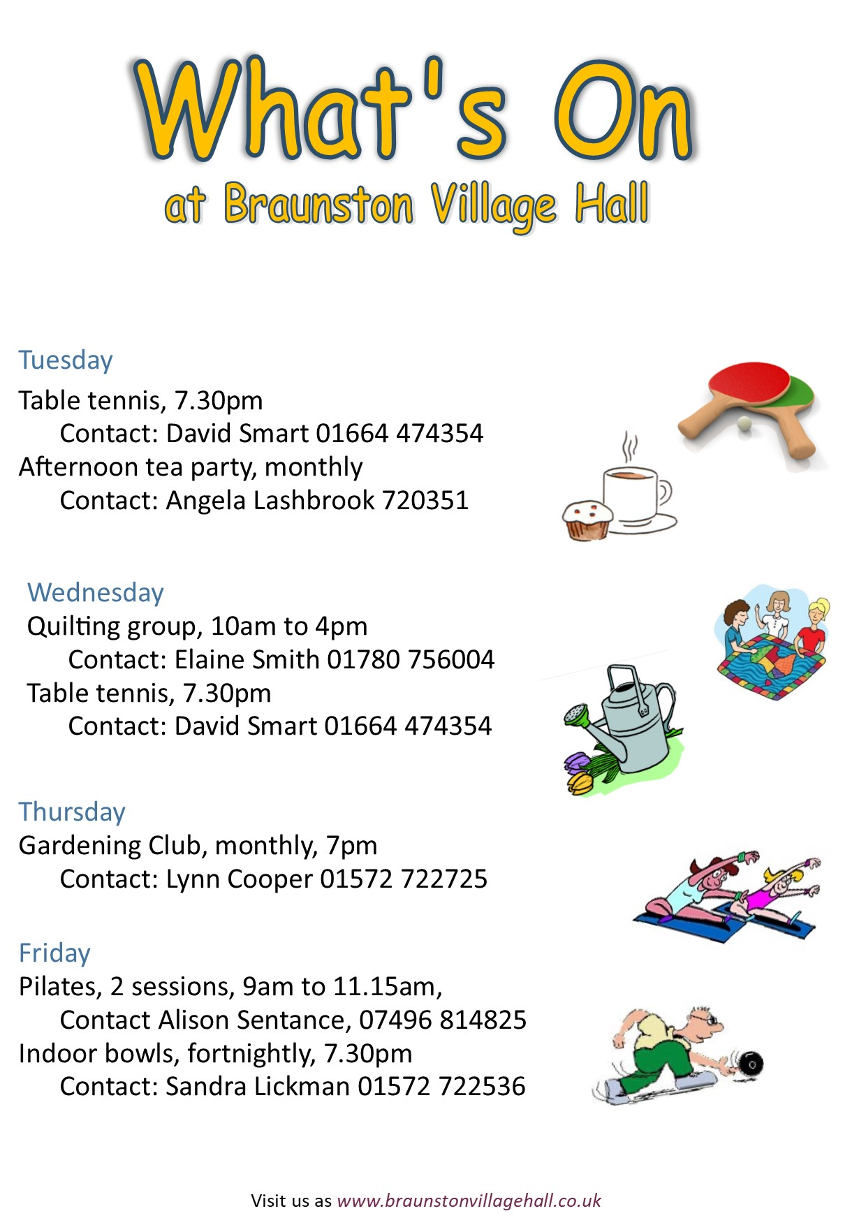 Braunston activities