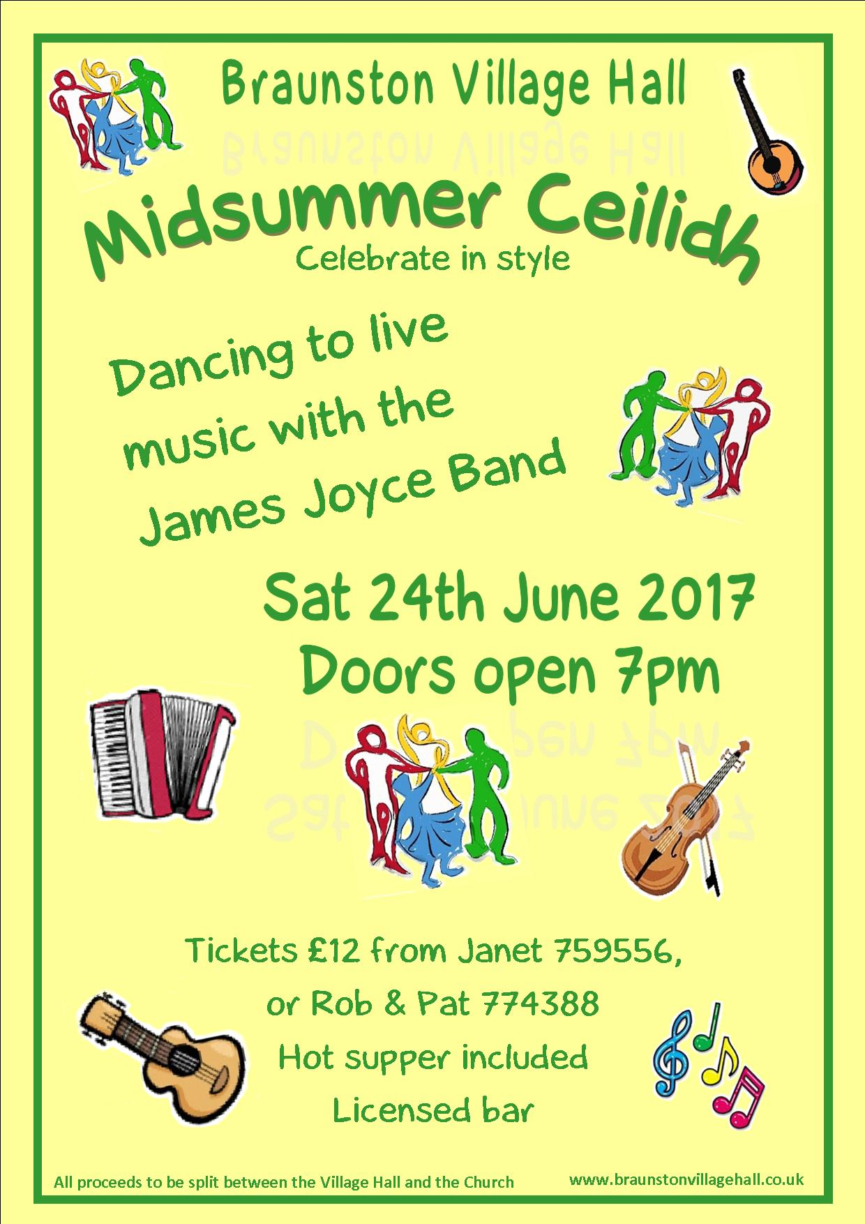 Braunston Ceilidh
