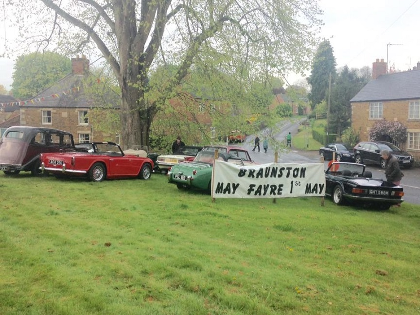 Braunston may fayre cars